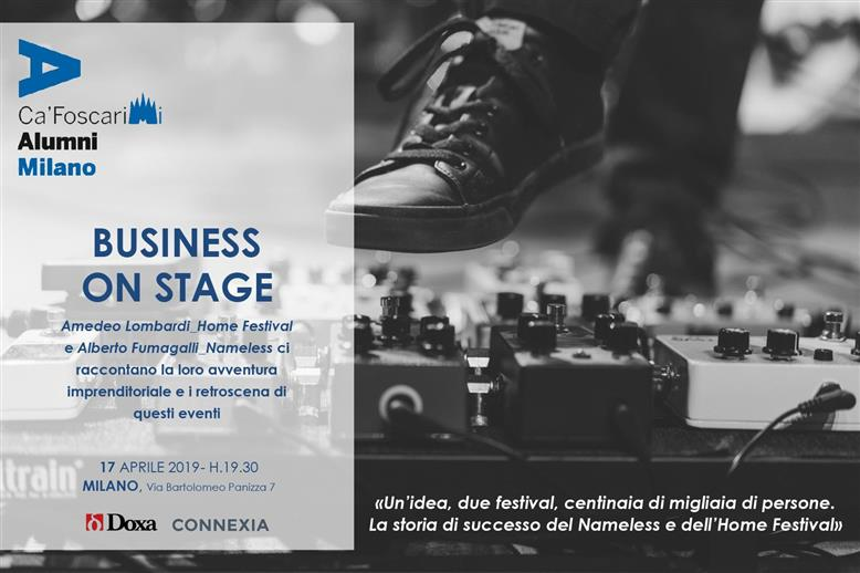 Business on Stage!